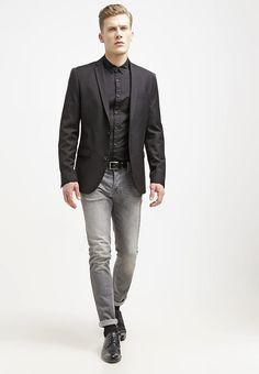 Vêtements CELIO DUHIT - Veste de costume - noir noir: 69,95 € chez Zalando (au 14/11/17). Livraison et retours gratuits et service client gratuit au 0800 915 207.