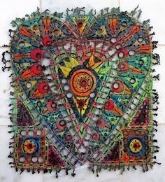 Art In Stitches by Susan Lenz