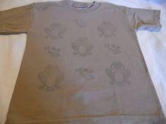 T-Shirt Brown Jerzeez Stamped T-Shirt Childs #JERZEES #Everyday