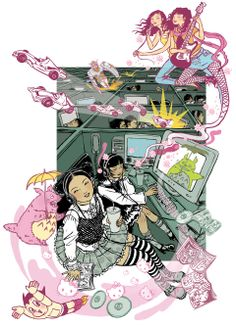 Yuko Shimizu - NY Times Arts & Leisure cover - The New York Times: Bagus Shibuya