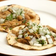 Juicy Chicken Tacos. Simple and delicious!