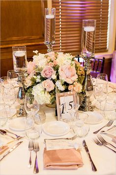 classy formal table decor @weddingchicks