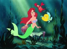 """""""Ariel, listen to me. The human world is a mess. Life under the sea is better than anything they got up there."""""""