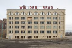 History 101 with Davinci the Detroit dog:Wonder Bread Factory, Detroit, Michigan