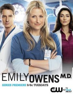 Emily Owens MD at CW Network! just found out the show is getting canceled.. :/ this sucks. i love this show!