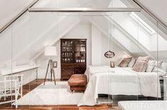 Спальня в шведском стиле