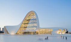 Zaha Hadid's Heydar Aliyev Centre, Baku, Azerbaijan