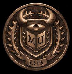 Digital Art MU Badge - Monsters University (2013) // Cassandra Smolcic