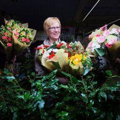 Françoise, Fleuriste chez Carrefour Etampes - Journée des Droits de la Femme