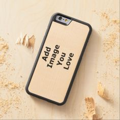 Add Your Horizontal Photo Carved® Maple iPhone 6 Bumper Case