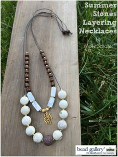 How to transform a pearl necklace from formal to casual for Michaels crafts jewelry supplies