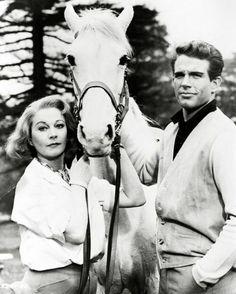 Warren Beatty and Vivien Leigh