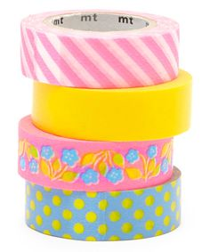 Look at this Four-Piece Poppy Washi Tape Set on #zulily today!