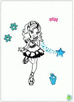 mini polly pocket coloring pages - photo#23