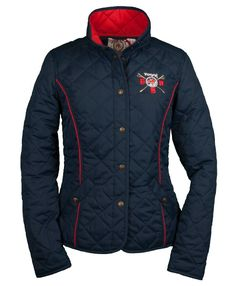 GBR Montreal, Ladies quilted jacket in Navy. www.Toggi.com