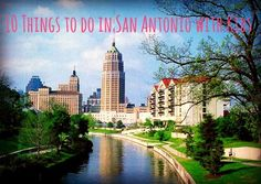 10 Things to do in San Antonio with Kids - I find it hilarious that most of this list isn't even IN San Antonio when there's a ton of stuff you can do without leaving the city limits.