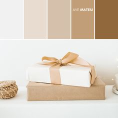 Minimalist Gift Presents Color Palette #380 – Ave Mateiu  -  Summer 2020, color palette, color palettes, colour palettes, color scheme, color inspiration, color combination, art tutorial, collage, digital art, canvas painting, wall art, home painting, photography, weddings by color, inspiration, vintage, wallpaper, background, rustic, seasonal, season, natural, nature