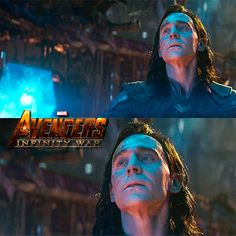 #TomHiddleston as #Loki in Avengers: #InfinityWar (2018)