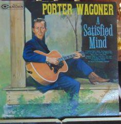 Porter Wagoner Lp A Satisfied Mind Near Mint #AlternativeCountryAmericanaContemporaryCountryNashvilleSoundTraditionalCountry