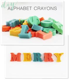 Sometimes it's the simplest of projects that lend the most amount of fun. DIY Crayons | http://www.stylemepretty.com/living/2012/12/15/smp-at-home-diy-crayons/