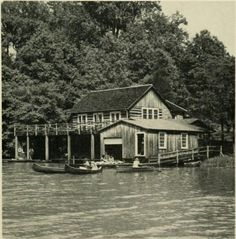 Sweet Briar College's boathouse