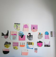 Paper Objects Series: Installation View - Sarah Boyts Yoder