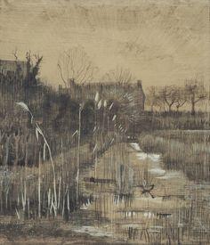 Ditch, 1884, Vincent van Gogh, Van Gogh Museum, Amsterdam (Vincent van Gogh Foundation)
