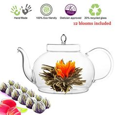 Tea Beyond Glass Teapot and Tea Set - Cool Kitchen Gifts