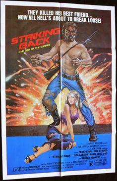 STRIKING BACK 1979 Movie Poster 27x41 #BMovie #Exploitation #Philly #MoviePoster   http://stores.ebay.com/AwesomeBMovies