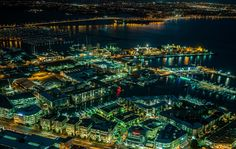 Night City From a Height
