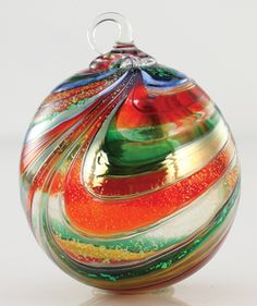 2012 Glass Eye Tinsel Annual Ornament Limited Edition