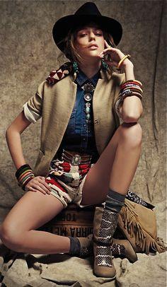 Glamour Italia, May 2013 : Gaucho style