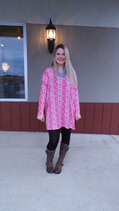 Pink Indian Tunic | Hyp Boutique