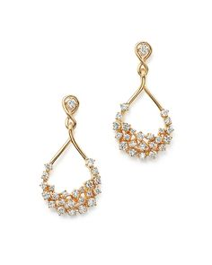 Seemingly dipped in diamonds, this gold pair of teardrop of earrings from our exclusive collection amplifies your look with exquisite shine. Diamond Earrings Indian, Diamond Drop Earrings, Gold Earrings, Diamond Jewelry, Gold Jewelry, Teardrop Earrings, Hanging Earrings, Small Earrings, Buy Jewellery Online