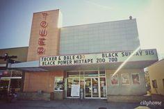 Salt Lake City Tower Theatre. #saltlakecity #cityhomeCOLLECTIVE #movies #flims