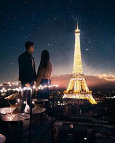 Magical moments in Paris with @georgiama_ . One of the best views of the Eiffel Tower I have ever seen 🗼.This was an epic collab with… Classy Couple, Boss Babe Quotes, Nice View, Couple Goals, Relationship Goals, Cute Couples, Travel Destinations, Good Things, In This Moment