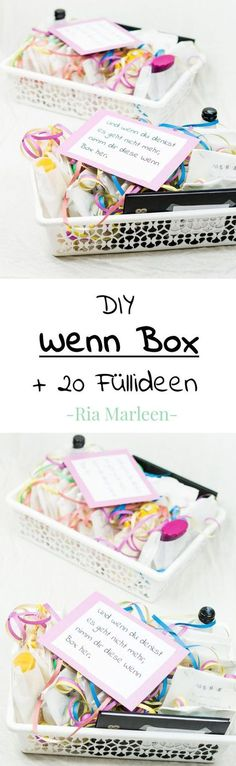 DIY Wenn Box basteln - schöne Geschenkidee für jeden Anlass DIY If box tinker - nice gift idea for any person and any occasion . Diy Christmas Gifts For Boyfriend, Boyfriend Crafts, Christmas Diy, Diy Presents, Diy Gifts, Best Gifts, Homemade Gifts, Diy Image, Wallpaper World