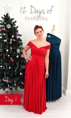 Over the next two weeks, we'll be showing you 12 new ways to wear your twobirds dress! Alongside this, the UK team are running a competition to win your very own ballgown in time for Christmas! To enter, re-pin this to your Pinterest boards and tell us where in the world you'd love to wear your twobirds dress in the pin description. Make sure you use the hashtag #Love2B. Good luck! For the back/front view and the competition terms & conditions click the pic.