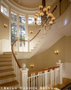 John Morris Architects. Great staircase!