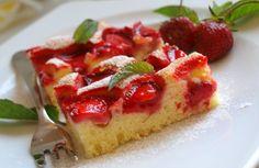 Už se těším na jahody z mé zahrady. Už co chvíle budou! Autor: Naďa I. (Rebeka)