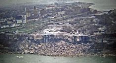 Les chutes du Niagara sans eau, en 1969.