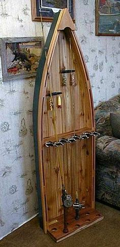 Fishing Tips That Will Hook You Bigger Fish Visit the image link for more details. Fishing Tips That Will Hook You Bigger Fish Visit the image link for more details. Fishing Rod Rack, Fishing Rod Storage, Wood Projects, Woodworking Projects, Crappie Fishing Tips, Fly Fishing, Boat Rod Holders, Boat Furniture, Pool Sticks