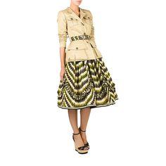 Lena Hoschek | Safari Yellow Sand Jacket and Zambezi Seeds Skirt | Hot Mama Africa Collection