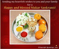 Dgreetings - Makar Sankranti Card