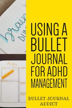 Bullet journal ADHD management can help combat forgetfulness, thought overload, and help you stay on top of tasks. Manage ADHD with trackers and planning. Bullet Journal Adhd, Bullet Journal Cover Ideas, Bullet Journal Spread, Bullet Journal Layout, Adhd And Autism, Adhd Kids, Adhd Brain, Adhd Strategies, Adult Adhd