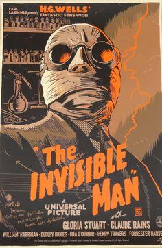 """The Invisible Man"" starring Claude Rains. Co-starring Gloria Stuart (the elderly Rose in ""Titanic""."