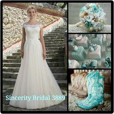 Sincerity Bridal style 3889