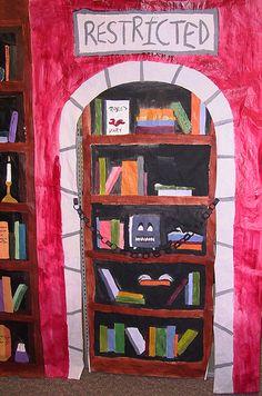 Restricted Section of Hogwarts Library by samthegirl, via Flickr