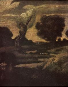 pinkham ryder painting | Albert Pinkham Ryder, The Forest of Arden , 1888-1897, possibly ...