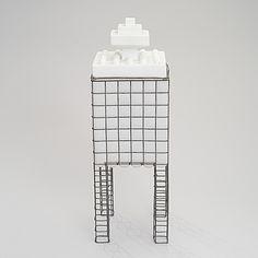 MARKKU SALO, MARKKU SALO, A SCULPTURE. Ice Tower. Signed Markku Salo, Nuutajärvi 1988.  #bukowskis #bukowskismarket #design